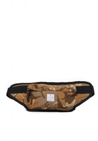 BROWN CAMO BIG WAIST BAG