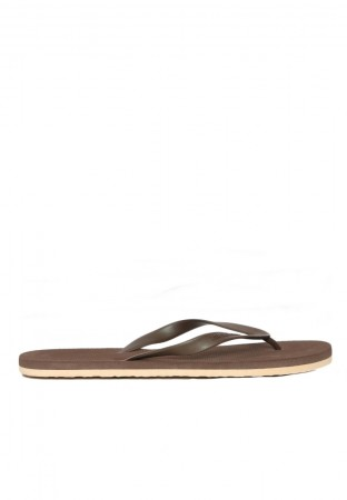 BROWN MIX RUBBER FLIP FLOP