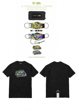 Bundle A BEAUTIFULL MESS TEE TAG & Masker Pack