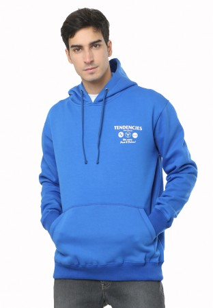 HOODIE PULLOVER AUTO SERVICE BLUE