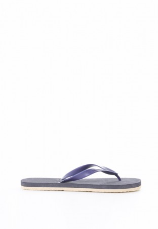 NAVY MIX RUBBER FLIP FLOP