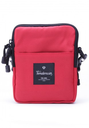 RED SLING POUCH