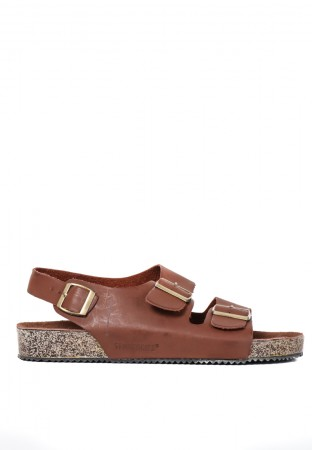 SLOP SOFT FOOTBED BROWN