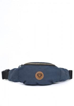 WAIST BAG CANVAS BLUE